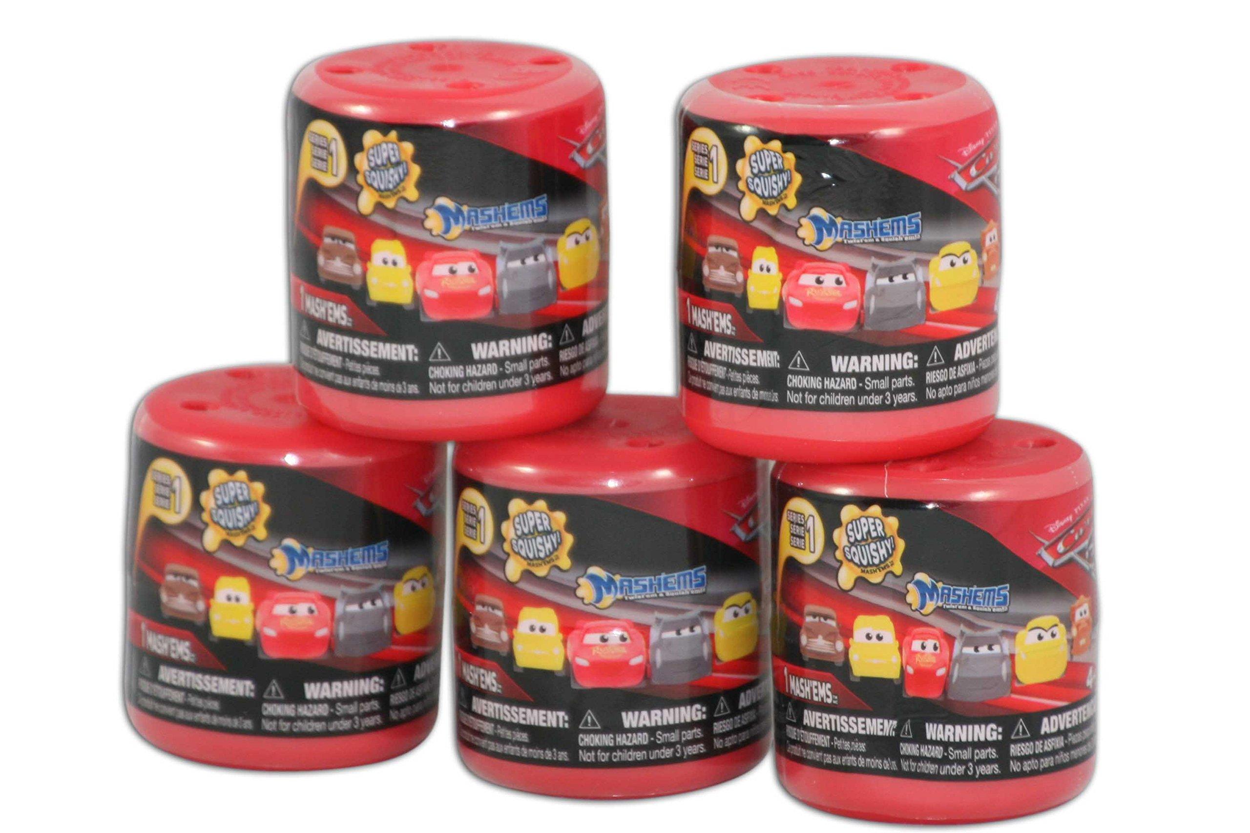 Cars3 Mashems 5 Capsule Bundle Random Mix Series 1