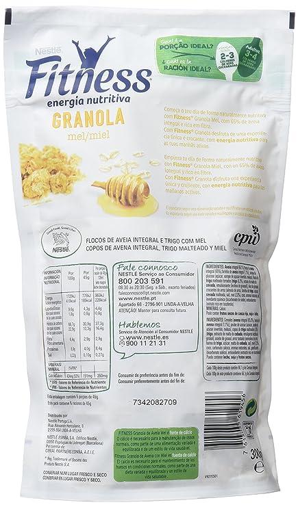 Fitness Cereales Granola Avena, Trigo Malteado y Miel - 300 gr: Amazon.es: Alimentación y bebidas
