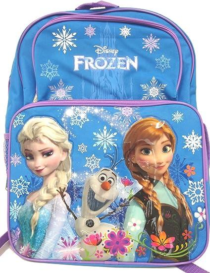 Disney Frozen Anna Elsa /'Colour Match/' Snowflake School Hand Bag