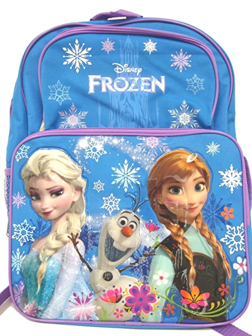 309a680021 Image Unavailable. Image not available for. Color  Disney Frozen Princess  Elsa and Anna School Backpack ...