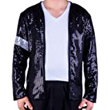 Mjb2c - Michael Jackson Costume Billie Jean Armband Sequin Jacket