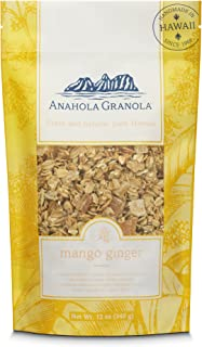 product image for Anahola Granola Mango Ginger Granola - Healthy Hawaiian Granola - Ancient Grains With No Sugar Added - Handmade Since 1986 - Good For You While Still Tasting Great