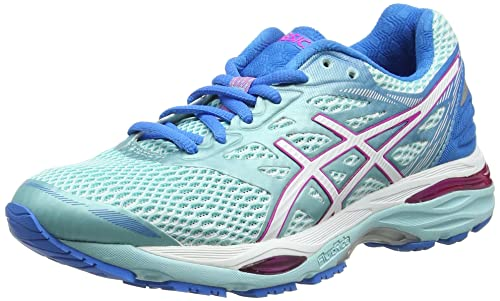 Blu 35.5 EU ASICS GEL PULSE 8 SCARPE RUNNING DONNA AQUA SPLASH/FLASH