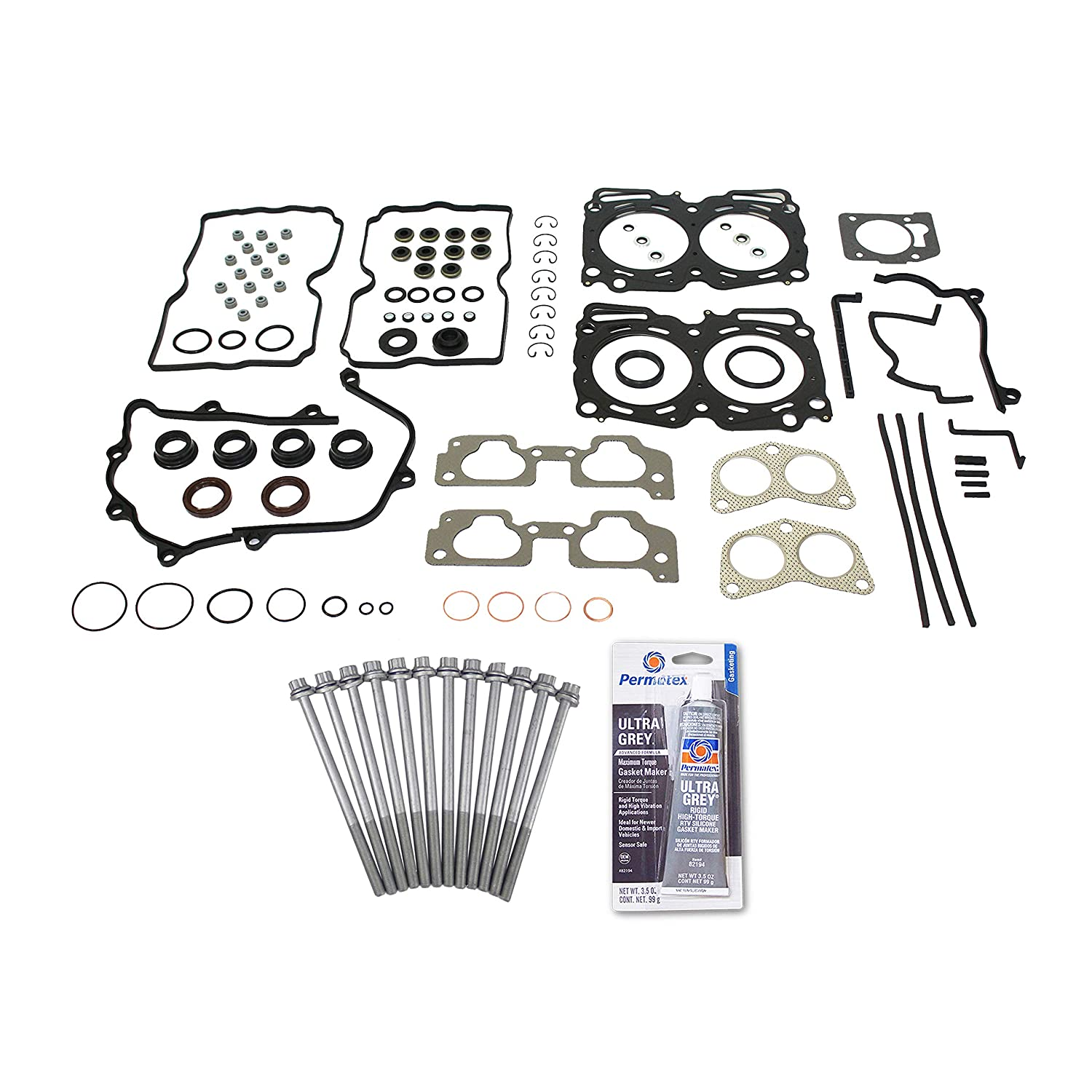 Vincos MLS Head Gasket Replacement For 99-10 Subaru Forester Impreza Legacy Outback 2.5L EJ25