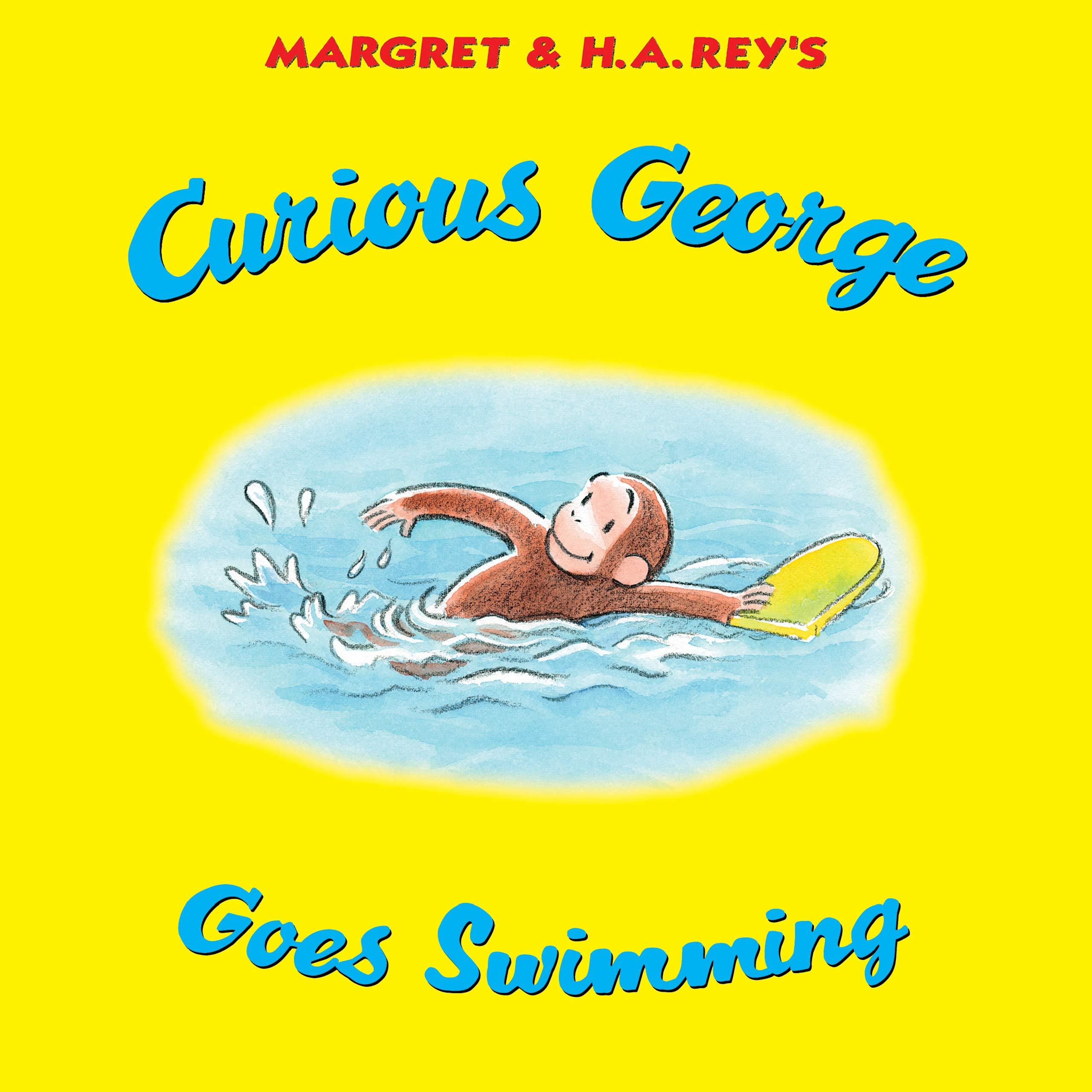 New 27x52 Curious George Paint Beach Bath Pool Towel Monkey Cartoon Book Series