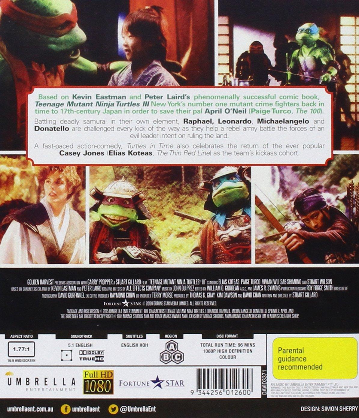 Teenage Mutant Ninja Turtles 3: Turtles In Time Edizione ...