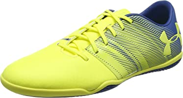 Chuteira Futsal Under Armour Spotlight In Masculina - Amarelo+cinza - 42