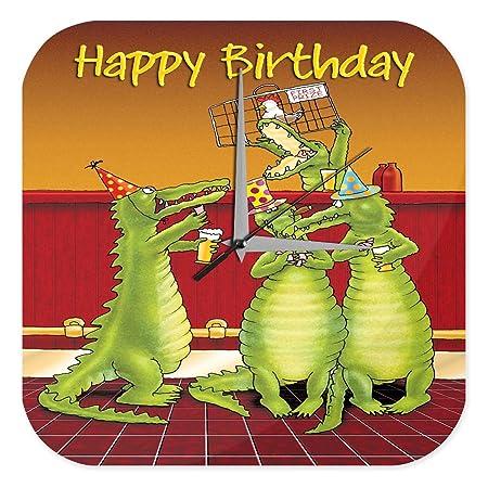 Reloj De Pared Cumpleaños Felicitaciones Feliz cumpleaños ...