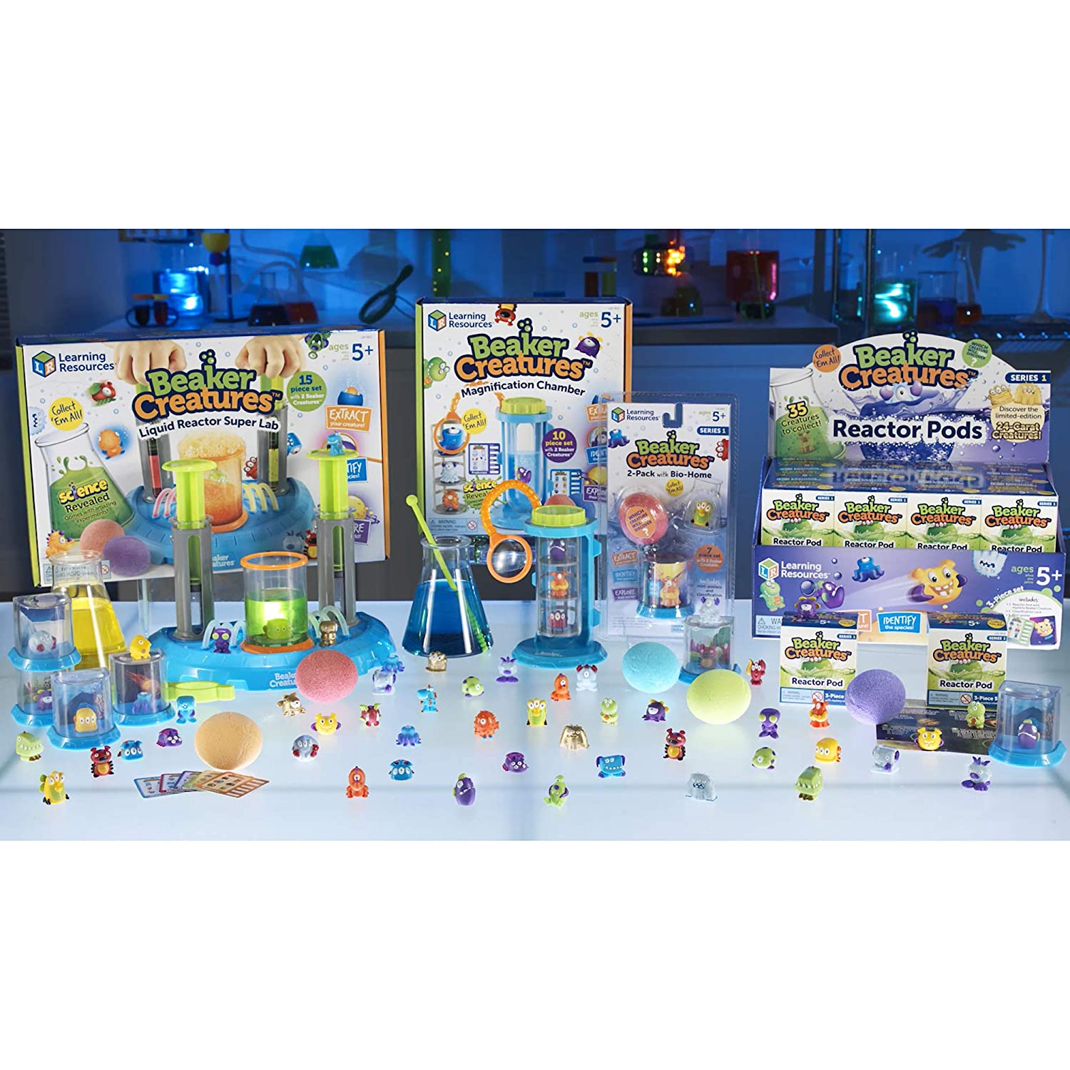 Learning Resources Beaker Creatures Reactor Pods 2 Pack LER3822