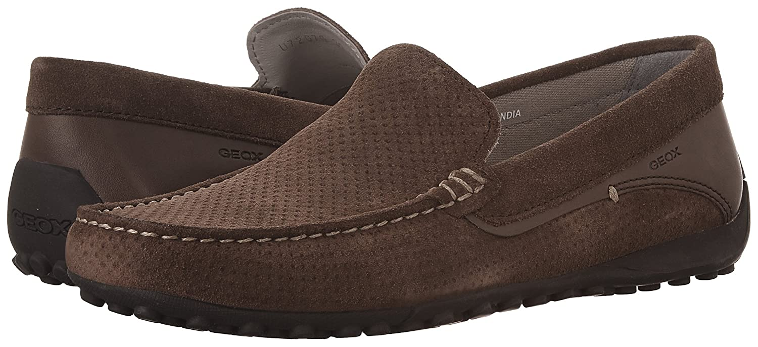 3e73dd0a90ab6 Amazon.com | Geox Men's M Snake Moc 15 Boat Shoe | Loafers & Slip-Ons