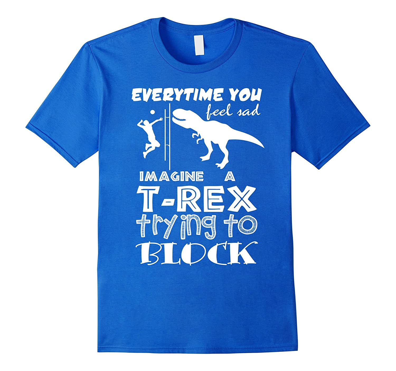 funny volleyball t rex t rex player t shirt   goatstee
