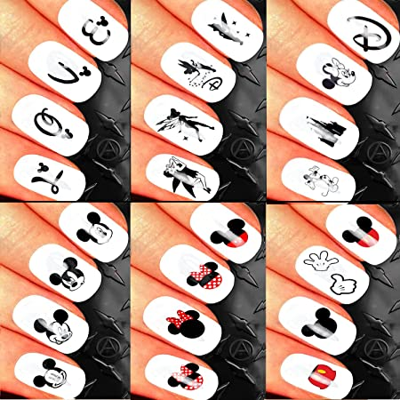 Christmas Nail Art Set Stickers Decals Water Transfers Xmas