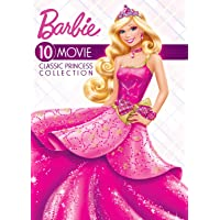 Deals on Barbie: 10-Movie Classic Princess Collection DVD