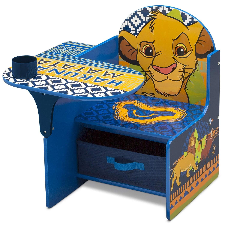 Delta Children Chair Desk with Storage Bin, Disney The Lion King