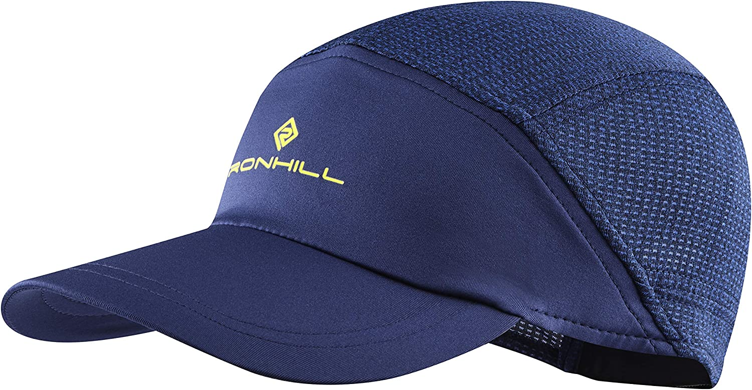 RONHILL MENS UNISEX AIR-LITE CAP DRY LIGHT STRETCH RUNNING SPORTS HATS CAPS
