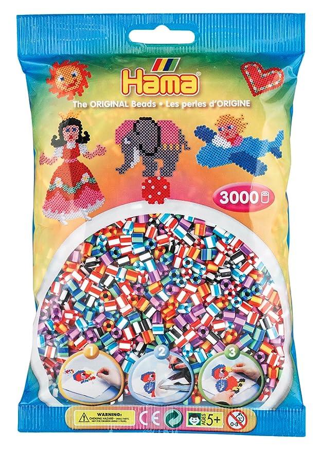 Hama Beutel mit 1000 Bügelperlen schwarz