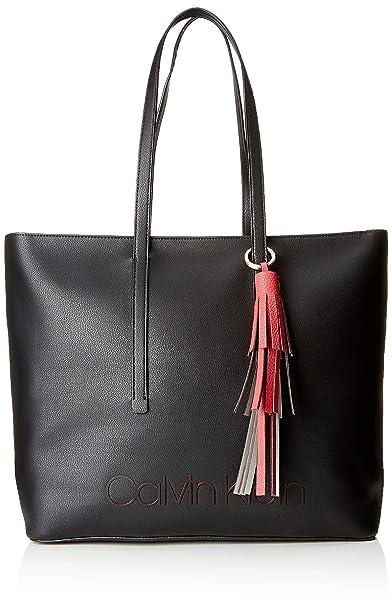 A Shopper Borse Jeans Pop Klein Donna black Calvin Spalla Nero wF7An