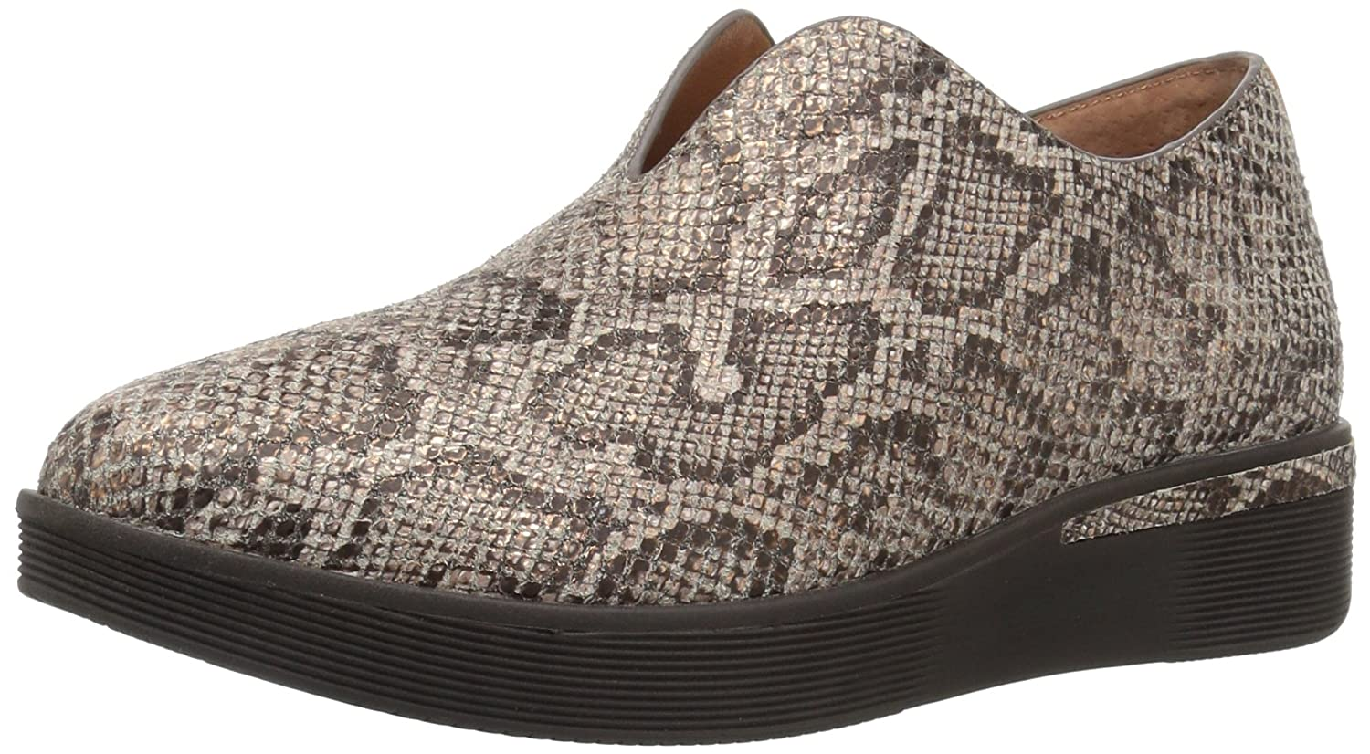 Gentle Souls by Kenneth Cole Hanna Platform Slip ON Fashion Sneaker- Leather Shoe B072637TL8 7.5 B(M) US|Rose Gold