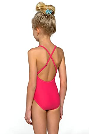 5ba3d3783c Kids Childrens Girls Swimming Costume Swimwear Swimsuit Beachwear One Piece  Pink BNWT (110cm): Amazon.co.uk: Sports & Outdoors