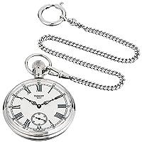unisex-adult Lepine Brass Pocket Watch Grey T8614059903300