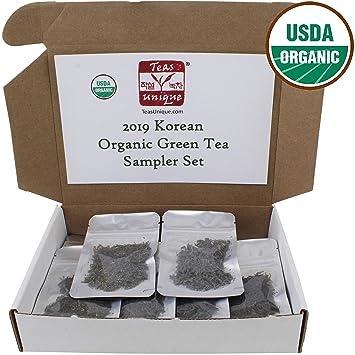 Tés Unique 2017 coreano 12 Caja Sampler de té (orgánico ...