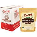 Bob's Red Mill Organic Dark Rye Flour, 20-ounce (Pack of 4)