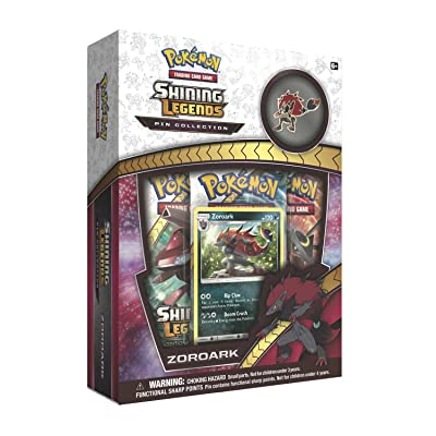 Pokemon TCG: Shining Legends Zoroark Collectible Pin Collection: Toys & Games