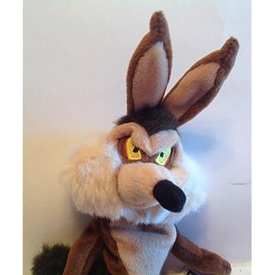 "Warner Bros. 9"" Wile E. Coyote Bean Bag: Toys & Games"