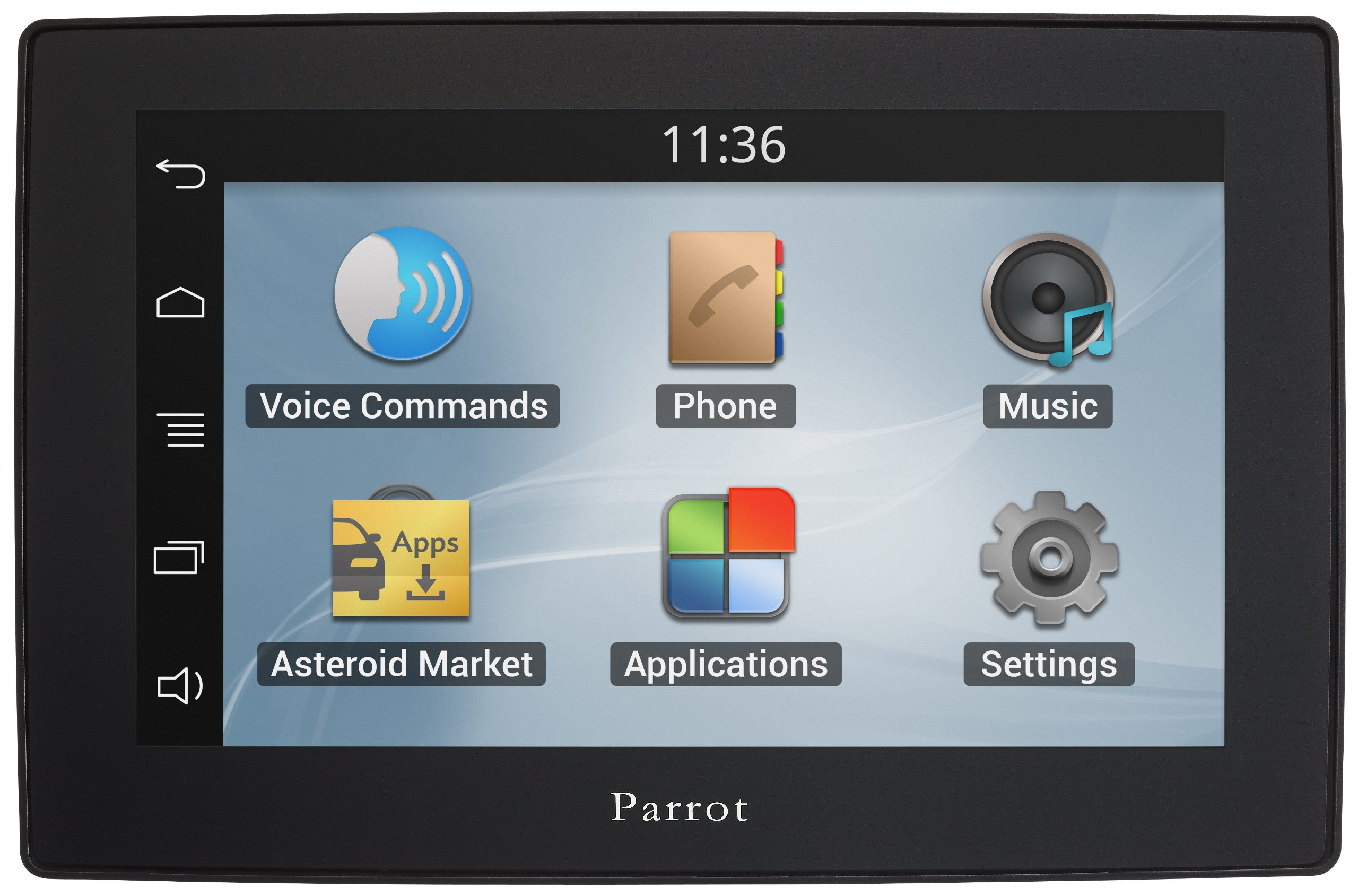 Asteroid TABLET – In-car multimedia system with Apps, Music and Bluetooth hands-free