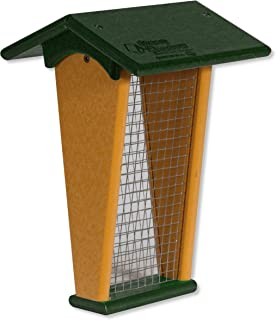 product image for DutchCrafters Peanut Hanging Poly Bird Feeder (Turf Green & Cedar)