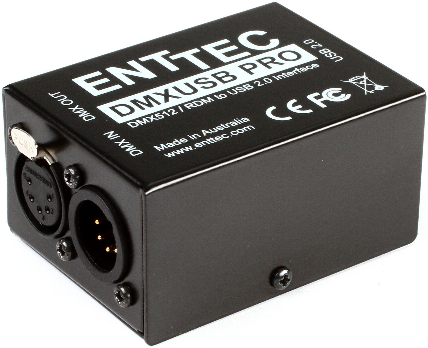 Enttec DMX USB Pro 70304 RDM Lighting Controller Interface