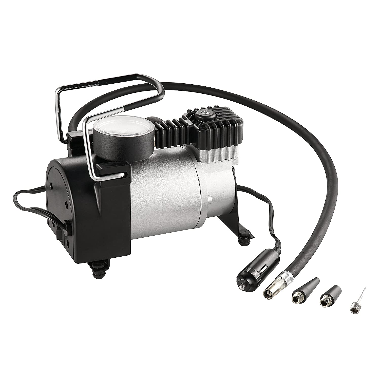 RAD Sportz 12 Volt Electric Air Captain Air Compressor with Gauge for Bike/Auto RAD Cycle Products 2146 RAD Air Captain Pump