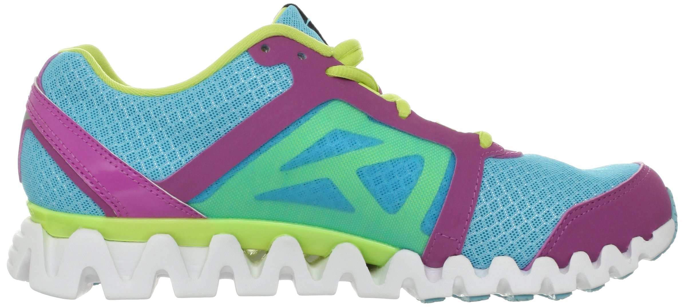Reebok Women's Zigquick Fire Cross-Training Shoe,Watery Blue/Cool Aloe/Iced Berry/White,10 M US by Reebok (Image #6)