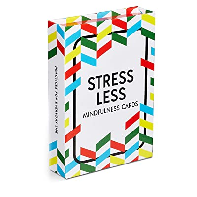 52 Mindfulness & Meditation Exercise Cards for Stress Less, Self Care, Relaxation, Anxiety & More.: Toys & Games