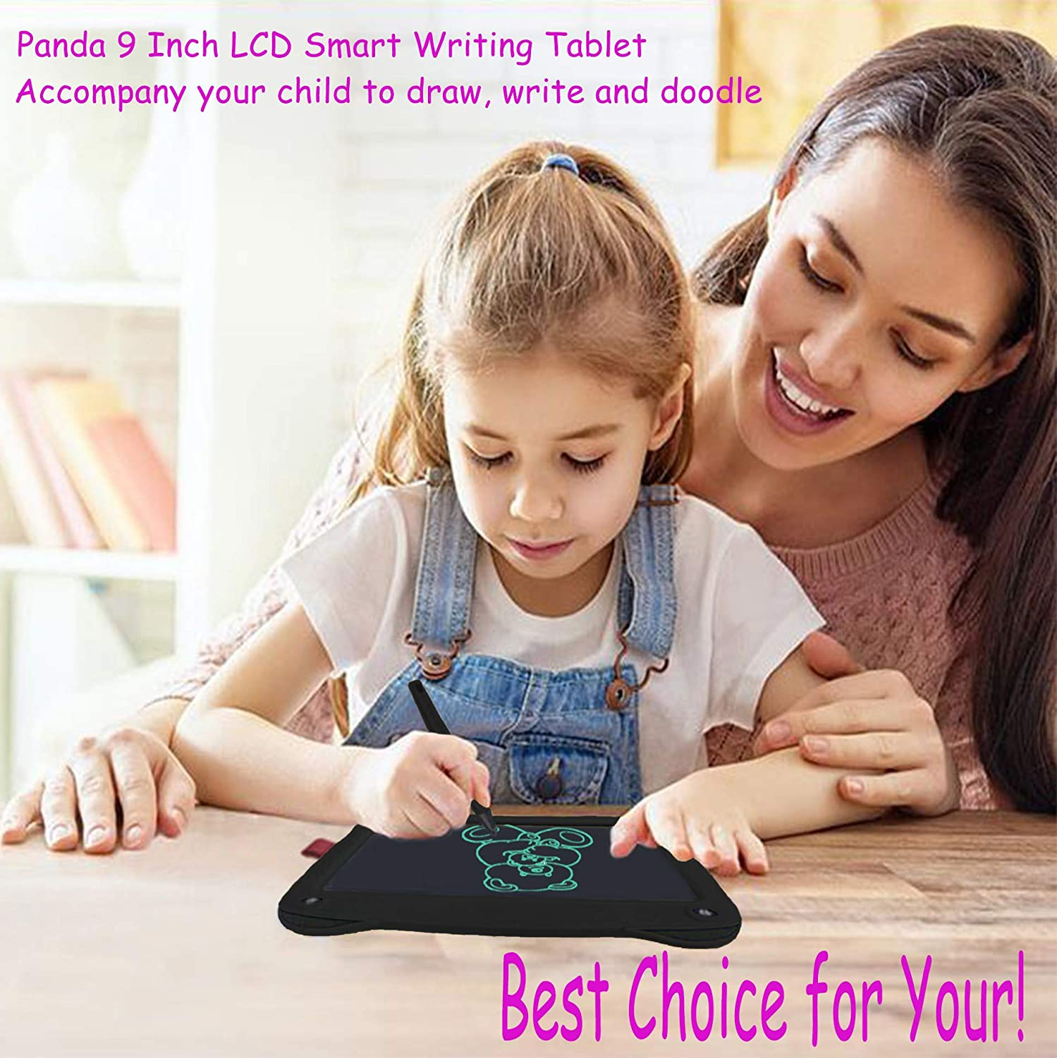 Teen Boy Girl Birthday Presents Gifts,8.5 Handwriting Paper Drawing Tablet at Home and Outdoor Yellow JRD/&BS WINL Colorful LCD Electronic Writing Tablet Toys for 4-9Year Old Boys