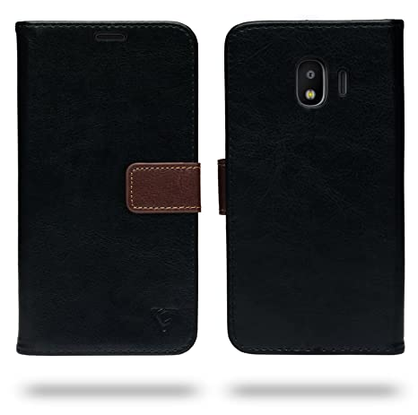 outlet store 70b5f 62bd9 Ceego Samsung Galaxy J2 (2018) Flip Cover - Compact & Uber Stylish Flip  Case for Samsung J2 (2018) (Black)