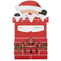 Amazon.co.uk Gift Card for Custom Amount in a Santa Chimney Reveal - FREE One-Day Delivery