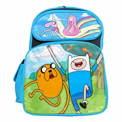 Ruz Adventure Time Jake, Finn and Princess Bubblegum Backpack Bag: Video Games