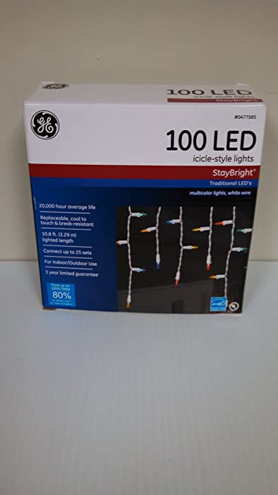 Top 10 Ge Staybright Icicle