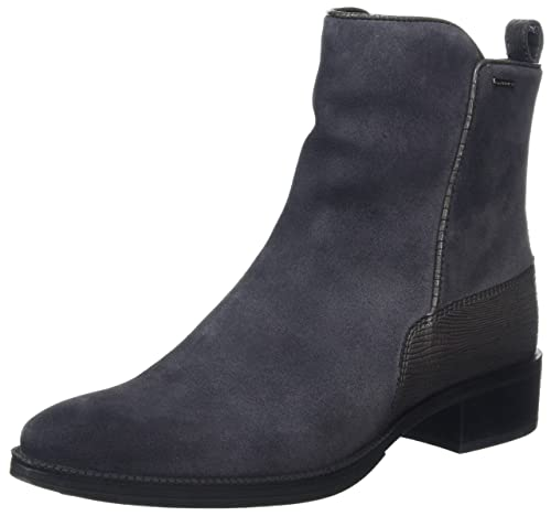 Geox D Meldi NP ABX, Botas para Mujer, Gris (Anthracite), 35