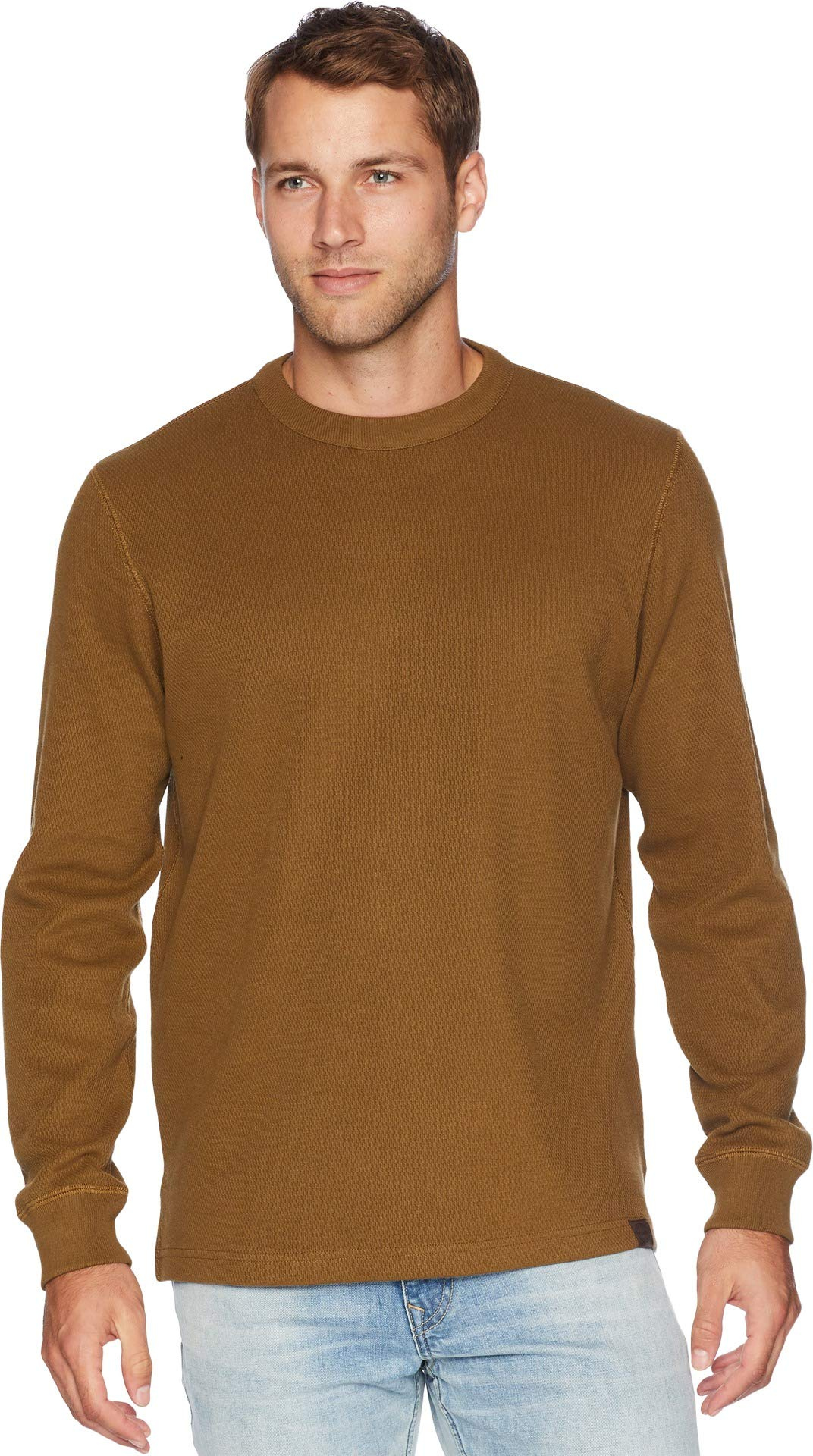Filson Men's Waffle Knit Thermal Crew Neck Olive Small by Filson