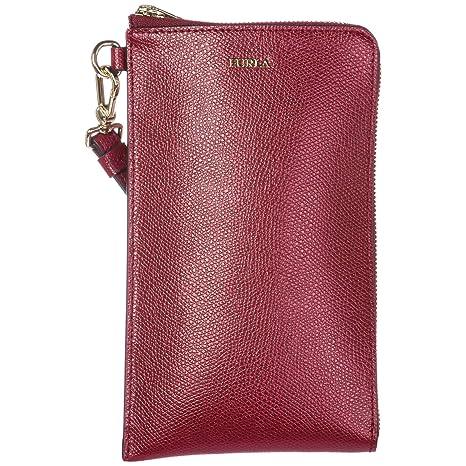 molto carino 1c137 57b28 FURLA portafoglio donna pelle bifold originale babylon rosso ...