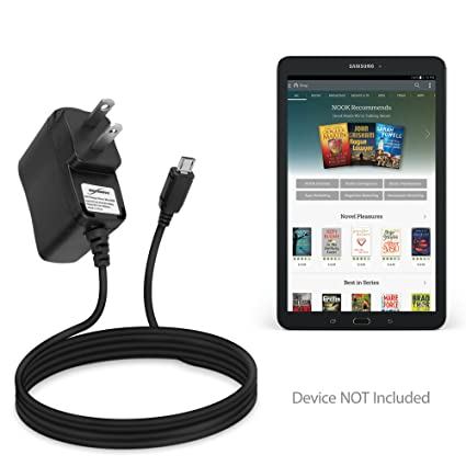 BoxWave Samsung Galaxy Tab E Nook Charger, [Wall Charger Direct] Wall Plug  Charger for Samsung Galaxy Tab E Nook