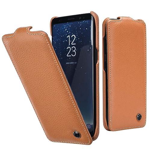4 opinioni per Cover Samsung S8 In Pelle , Lincivius® [Flip Shield Lusso], Custodia Samsung S8