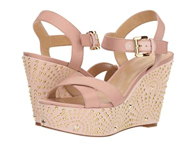 8af9ed4346 Image Unavailable. Image not available for. Color: Michael Michael Kors Sia  Wedge Sandals Shoes