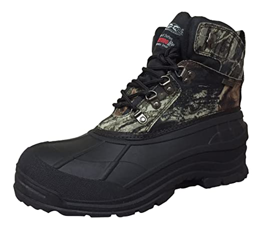 Climate X Mens YC2 Hunting Boots Camouflage/Black 8.5 M US