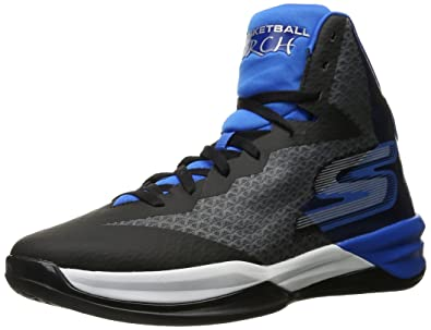 Skechers Performance Men's Go Basketball Torch Basketball Shoe,Charcoal/Blue,7.5  ...