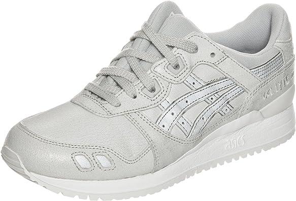 Asics Gel-Lyte III, Zapatillas de Gimnasia para Mujer, Gris (Glacier Grey/Silver), 40 EU: Amazon.es: Zapatos y complementos