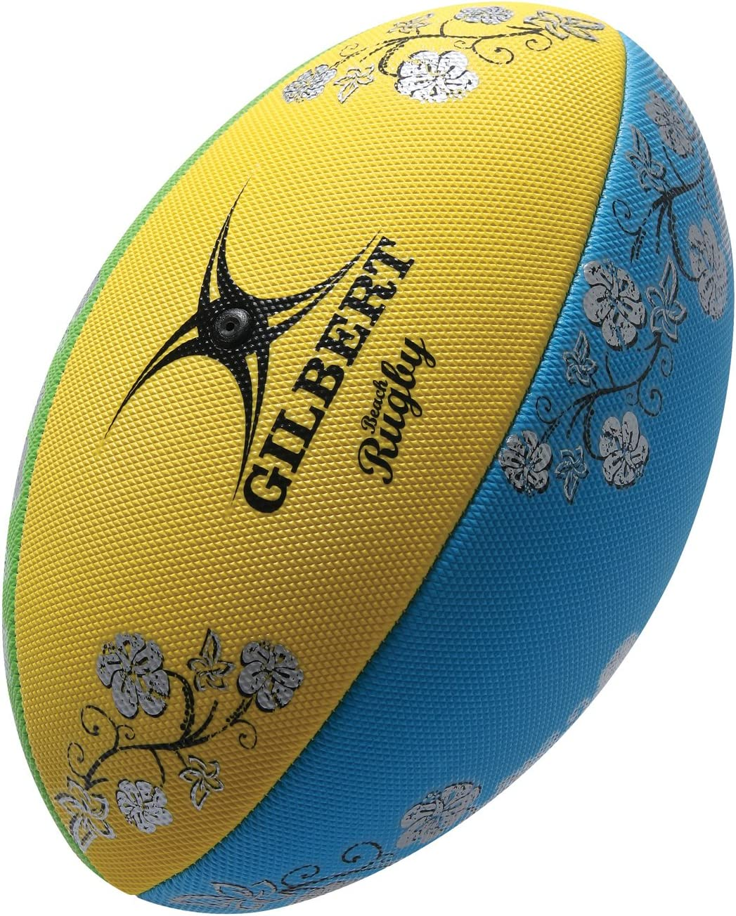 Gilbert Beach - Pelota de Rugby (Playa), Color Multicolor: Amazon ...