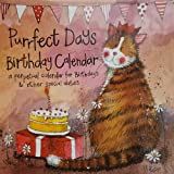 Birthday & Special Dates Calendar 'Purrfect Days' by Alex Clark - Perpetual Calendar by Alex Clark